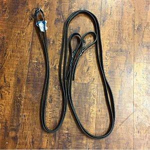 Stübben Leather Draw Reins - Black