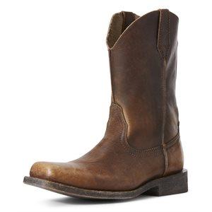 Botte Western Ariat ''Rambler Leather Sole'' pour Homme
