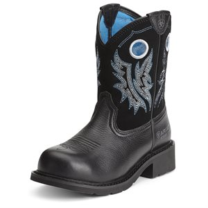 Botte Western Ariat ''Fatbaby Cowgirl Steel Toe'' pour Femme