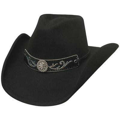 Bullhide Hangin' Out Felt Cowboy Hat - Black