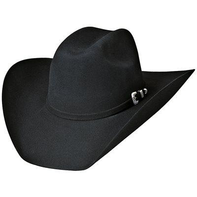 Bullhide Legacy 8X Fur Blend Cowboy Hat - Black