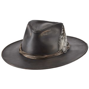 Bullhide One-Off Leather Cowboy Hat