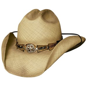 Bullhide Star Central Straw Cowboy Hat
