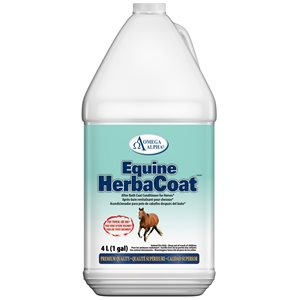 After Bath Coat Conditioner Omega Alpha Equine HerbaCoat 4L