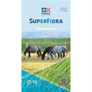 SuperFibra Nature Complement Horse Feed 25kg